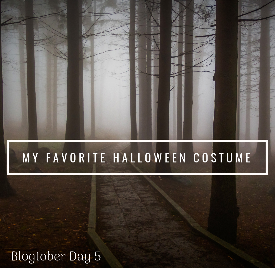 My Favorite Halloween Costume | Blogtober Day 5